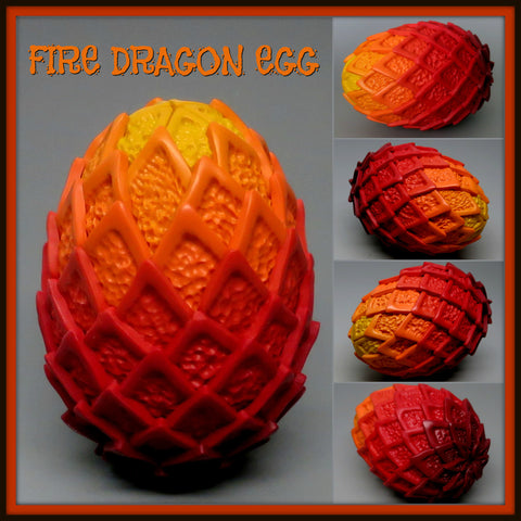 Fire Dragon Egg Tutorial
