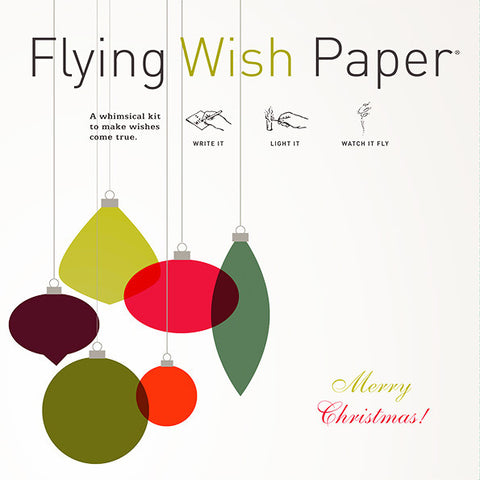 Retro Christmas - Flying Wish Paper Large Kit