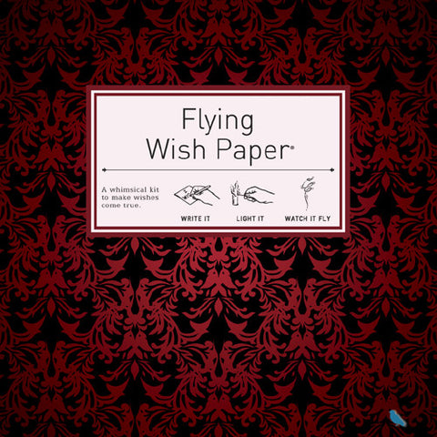 Flying Wish Paper Large Kit, Red Velvet