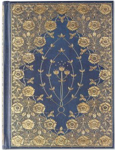 Gilded Rosettes Hardcover Journal