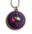 Royal Purple Dragon Pendant with Amethyst Cabochon