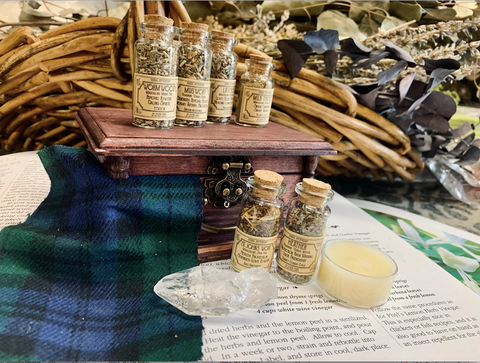 Apothecary Kit -- Outlander Themed