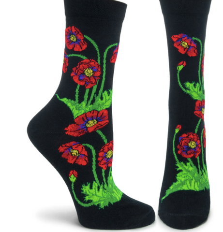 BACK IN NOVEMBER! Poppy Socks