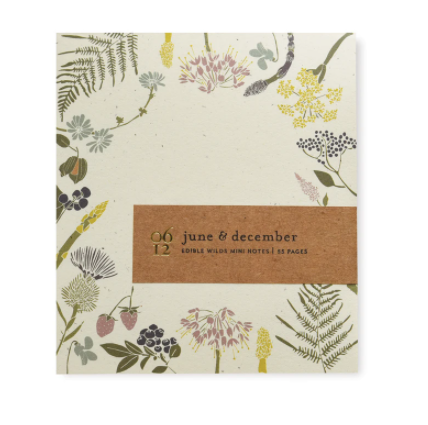 Wild Edible Mini Note Pad