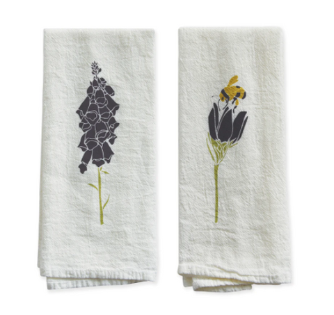 Foxglove and Crocus Napkin Set