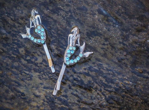 Mermaid Hair Pins (Two)