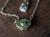 Green Evil Eye Necklace
