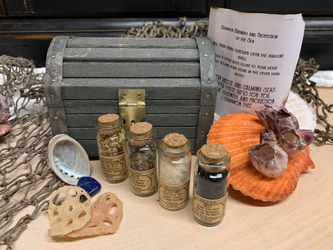 Apothecary Kit -- Sea Witch Themed