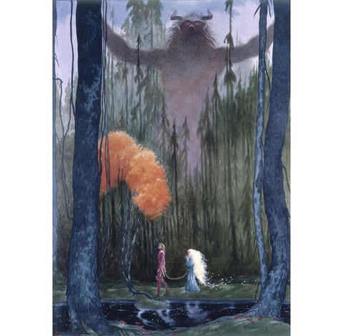 The Lord of the Forest - Limited Edition Signed Art Print