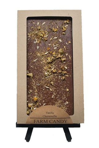 Vanilla Chamomile Chocolate Bar