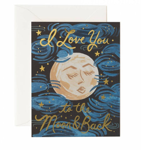 1 Year Gift Sub & I Love You to the Moon and Back Card