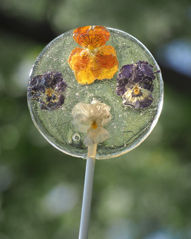 Floating Flowers Lollipop (One)
