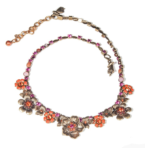 Autumn Fairy Queen Necklace