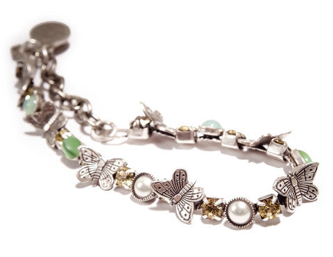 "Up & Down Butterfly ""Garden of Eden"" Bracelet"