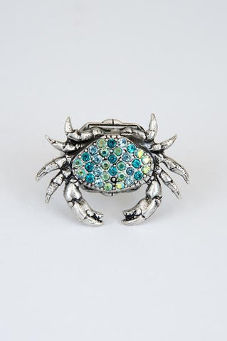 Pave Crab Ring