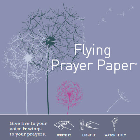 Flying Wish Paper Mini Wishing Kit, Dandelion Prayer