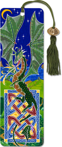Dragon Beaded Bookmark