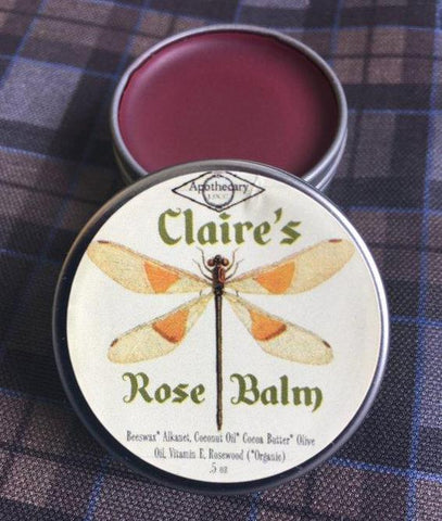 Outlander Inspired Tinted Rose Lip Balm