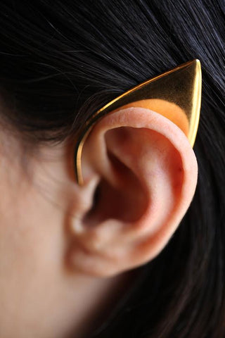 Gold Elvin Ear Cuff