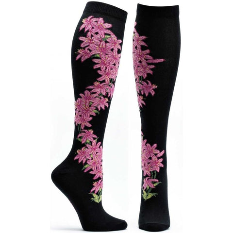Daylily Knee High Socks