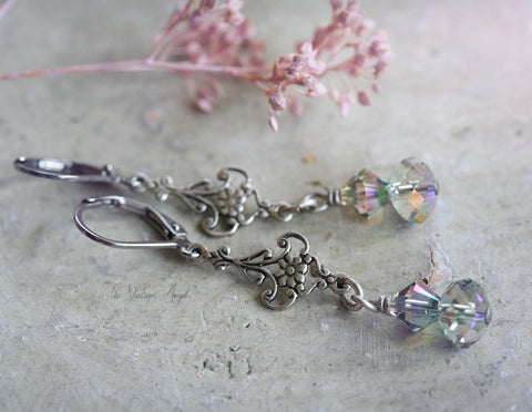 Butterfly Song Earrings by Vintage Angel