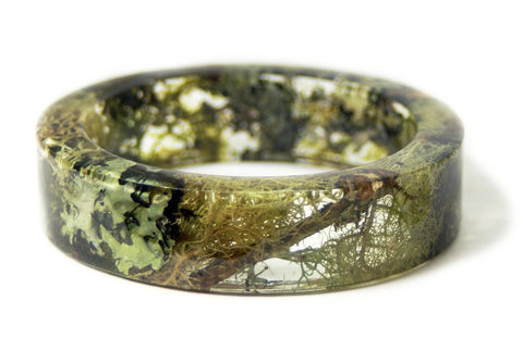 Forest Mix Resin Bracelet