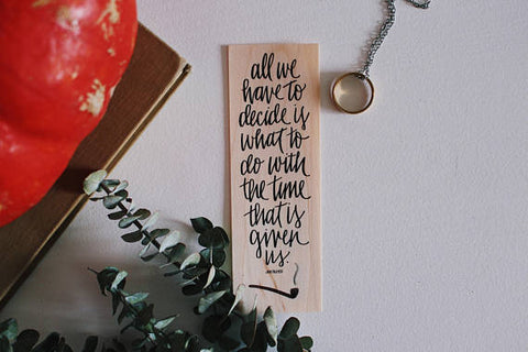 Gandalf Quote Bookmark