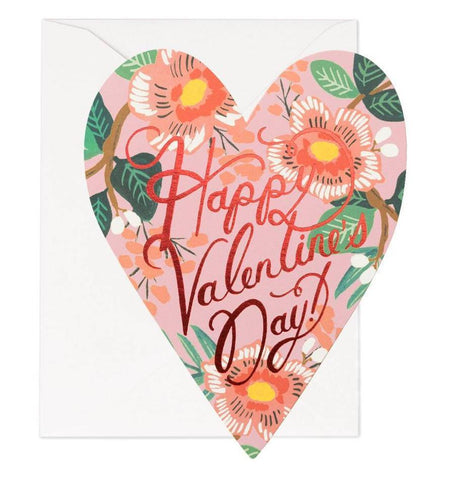 2 Year Gift Sub & Happy Valentine's Day Card