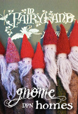 Gnome Homes Knitting Pattern PDF