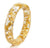 Sparkling Gold Flake Resin Bracelet