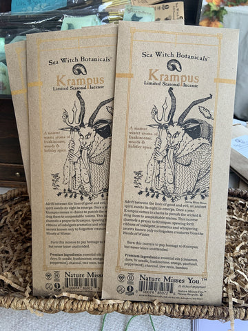 Krampus Incense Sticks