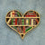 Library Book Heart Enamel Pin