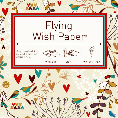 Lovebirds - Mini Wish Paper Kit
