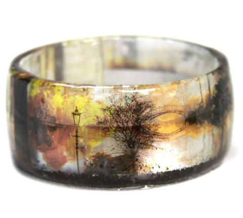 Walk in the Park Resin Bracelet