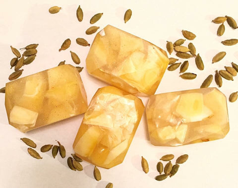 Mango Lassi Crystal Fairy Soap