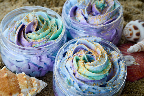 Mermaid Whipped Soap
