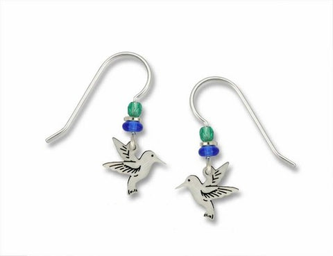 Mini Hummingbird Earrings
