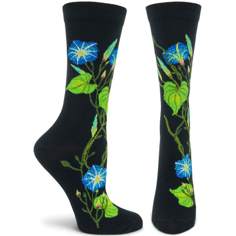 Morning Glory Socks