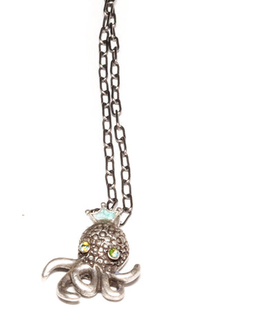 Baby Octopus Necklace