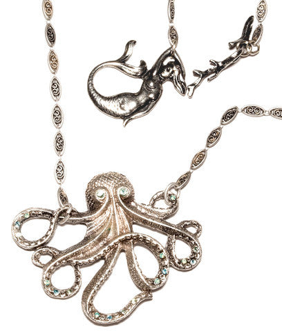 Octopus's Garden Necklace