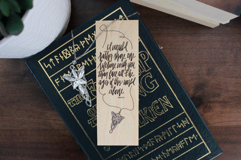 One Lifetime Lord of the Rings Bookmark