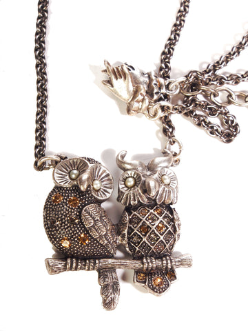 Love Owls Necklace!
