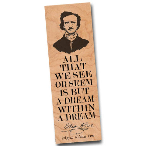 Edgar Allan Poe Bookmark
