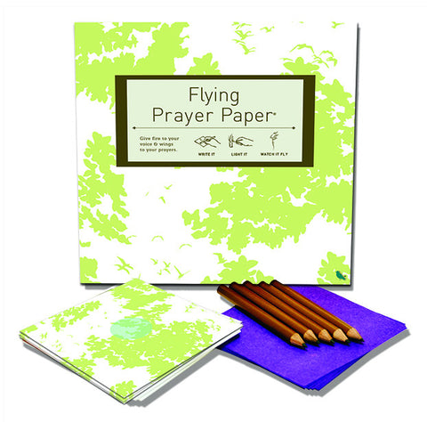 Flying Wish Paper - Large Prayer Paper Kit