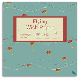Flying Wish Paper Large Kit, Puffs