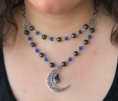 Rhiannon's Moon Necklace