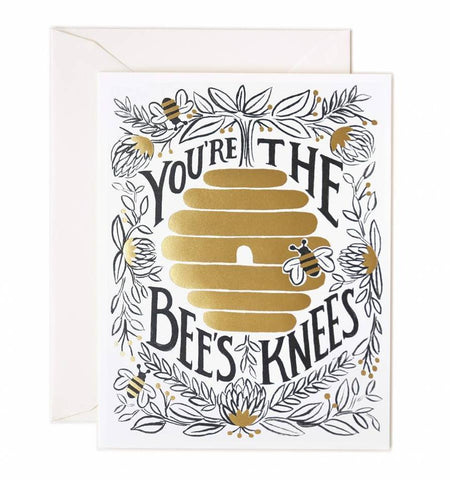 1 Year Gift Sub & You're the Bees Knees Card