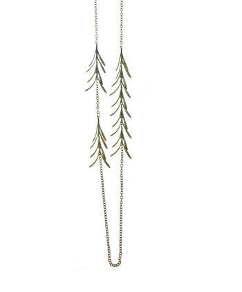 Rosemary and Chain Long Necklace