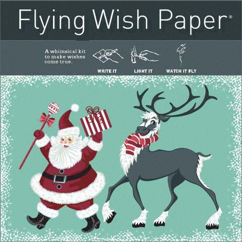 SANTA!! Flying Wish Paper Mini Kit
