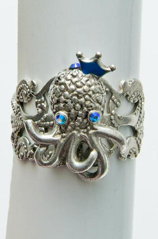 Baby Octopus Ring